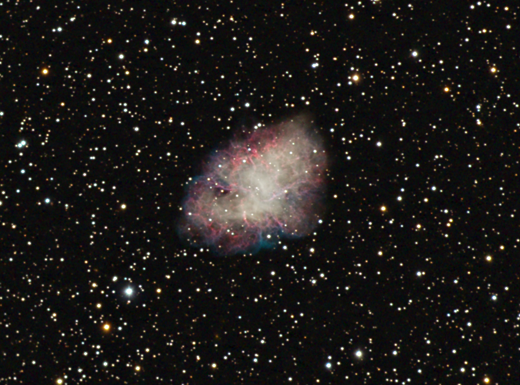 distance to the crab nebula - photo #10