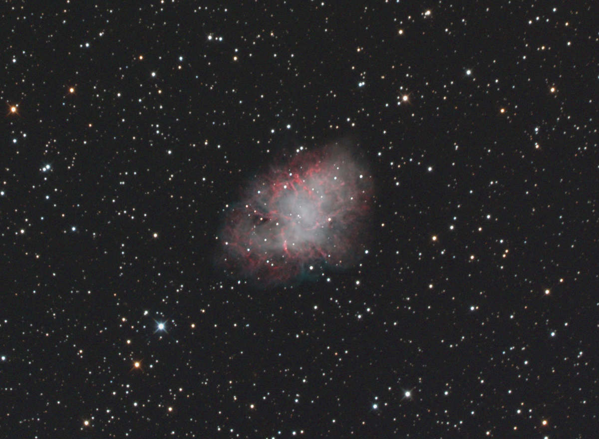 distance to the crab nebula - photo #6